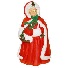 Santa Claus Christmas Decorations by Blow Mold Christmas Decorations Blow Mold Characters General Foam