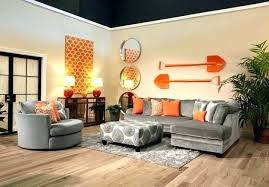 orange living room blue and orange room getlaunchpad co