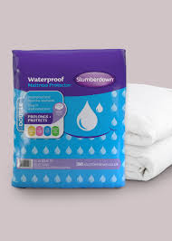 slumberdown waterproof mattress protector u2013 matalan