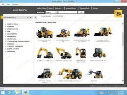 jcb spp parts catalog service manuals 2013