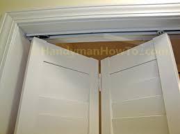 How To Remove A Sliding Closet Door Closet Replacing Sliding Closet Doors With Bifold Doors Install