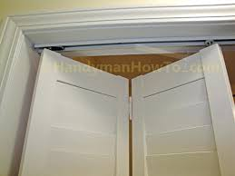 Sliding Closet Doors Installation Closet Replacing Sliding Closet Doors With Bifold Doors Install