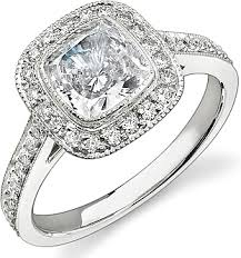 bezel set engagement ring stardust bezel set diamond engagement ring 47cttw sd n1619