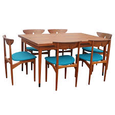 mid century danish dining set by kurt ostervig m and k dream