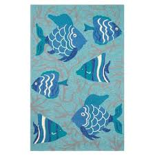 Fish Area Rug Fishing Themed Rugs Wayfair