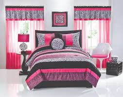 Pink And White Striped Rug Green Purple Yellow And Blue Pattern Bedding Bed On White Wooden