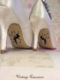 Wedding Shoes Kl Tinkerbell Disney Wedding Day Bride Shoe Sole Vinyl Decals