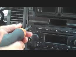 dodge durango stereo 2002 2007 dodge durango radio removal installation and wiring