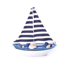 sailboat home decor sailboat decor wooden ship model miniature figurine wood boat