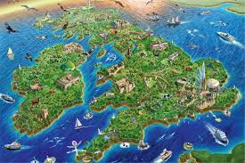 earth map uk great britain map jigsaw puzzle free delivery from the