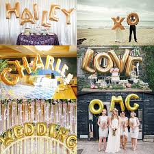 letter balloons 1 pc foil a z letter balloons for wedding supplies event