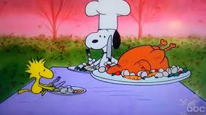 brown s thanksgiving excerpt of snoopy and woodstock