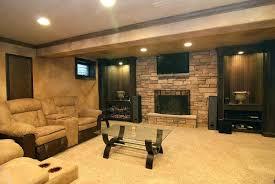 decor ideas for basement basement remodeling ideas living room