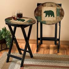 Black Bear Coffee Table Cabin Coffee Tables Coffee Tables Thippo