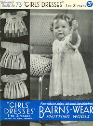 vintage baby clothes knitting patterns from the vintage knitting
