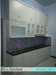 Kitchen Set Minimalis Putih Furniture Kitchen Set Minimalis Lemari Pakaian Jakarta Harga Murah