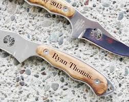 personalized knives groomsmen ships fast engraved bowie knife blade personalized