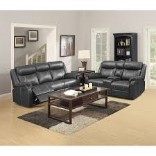 domino carbon reclining console loveseat motion loveseats