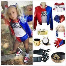 Harley Quinn Halloween Costume Kids Harley Quinn Costume Ebay