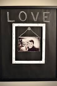 Picture Frame Wall by Best 20 Chalkboard Picture Frames Ideas On Pinterest Country