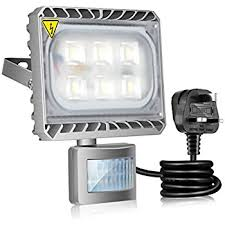 outdoor led motion lights gosun 30w led motion sensor flood light daylight white outdoor led