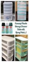 Plastic Storage Boxes For Christmas Decorations by Best 25 Plastic Drawers Ideas On Pinterest Decorating Plastic