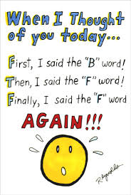 happy birthday cards best word bff 1 card 1 envelope birthday card front when i thought of