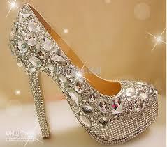 wedding shoes nz unique sparkling diamond wedding bridal shoes high heels