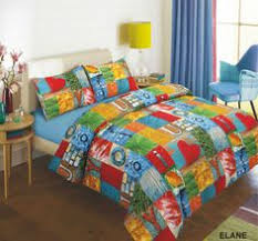 buy trees multicoloured bedding set double at argos co uk your