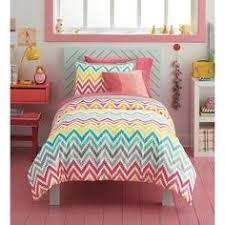 Target Girls Comforters Xhilaration Chevron Print Comforter Set Pink Twin Extra Long
