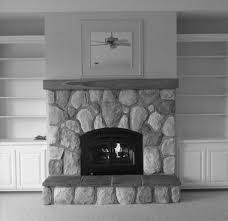 focal wall remodelaholic gray painted brick fireplace dark gray