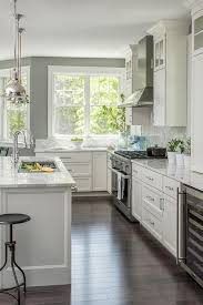 gray kitchen cabinets with white marble countertops pin on of the home