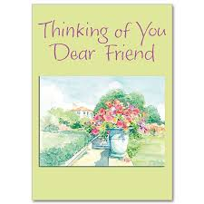 may things come your way thinking of you card