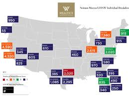 Hudson Yards Map Neiman Marcus And Wealth Map Business Insider