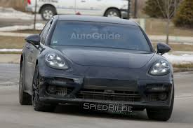 porsche inside view 2017 porsche panamera spied fully exposed inside and out