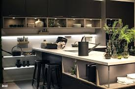ideas for kitchen islands in small kitchens breakfast bar ideas kitchen island with open shelving and a small