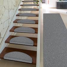 stufenmatten fuer treppe stufenmatten innen rechteckig oder halbrund 5 farben dayton de