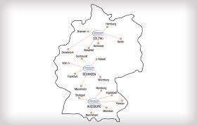 Kassel Germany Map by Germany Romania Transport