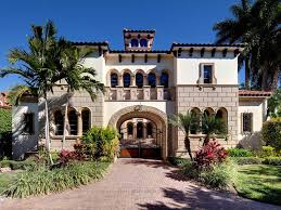 spanish style mansion is located in naples fl hgtv living