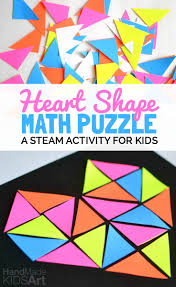 Home Design 3d Steam by Heart Shape Math Puzzle Steam Activity For Kids Combine Math