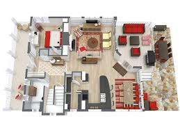 home floor plan designer roomsketcher home design software 3d floor plan modelo