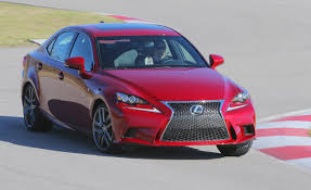 lexus is 250 vs audi s3 lexus is350 f sport at lightning lap 2014 u2013 feature u2013 car and driver