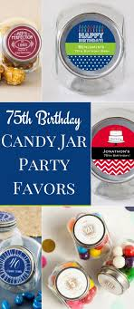 jar party favors personalized birthday mini candy jar favors choice of styles