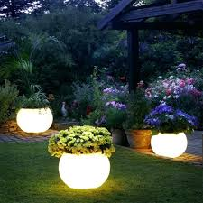 solar garden lights dollar tree solar lighting ideas white planter
