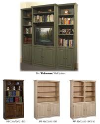 Bookcase With Doors Arthur W Brown Furniture Company