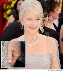 tattoo removal helen mirren u0027s tattoos