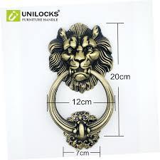 lion door knocker unilocks 20cm large antique lion door knocker lionhead doorknockers