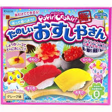 where to buy japanese candy kits kracie popin cookin diy candy kit sushi from japan ca