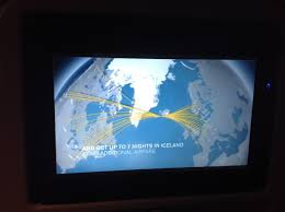 Icelandair Route Map by