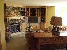 living room with corner fireplace and tv centerfieldbar com
